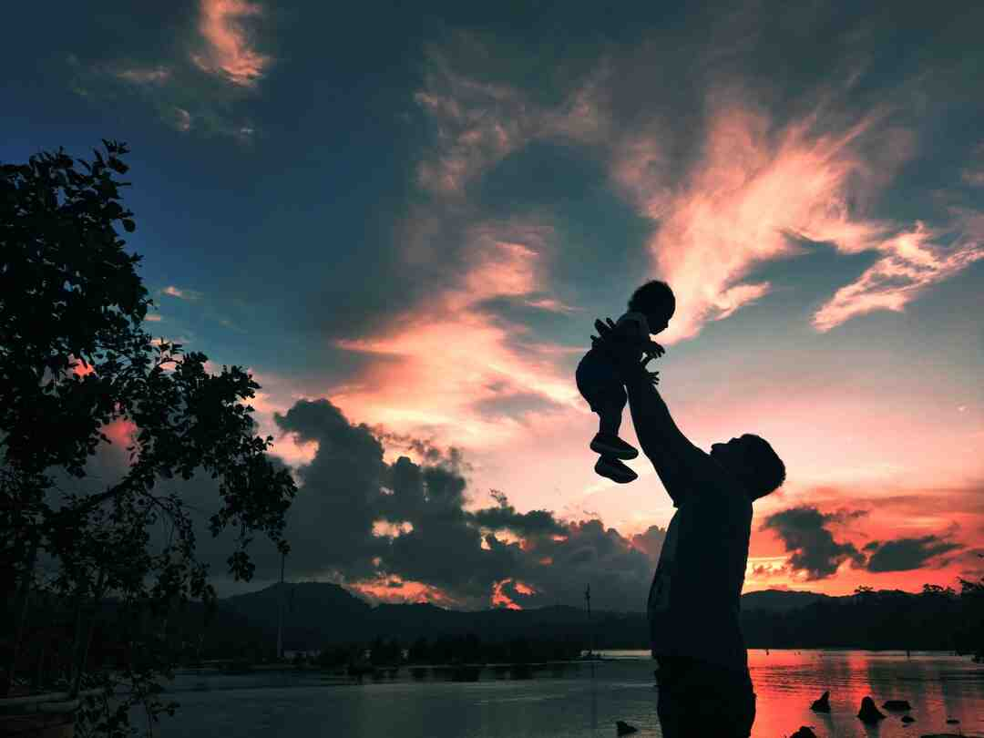 How silhouette photography