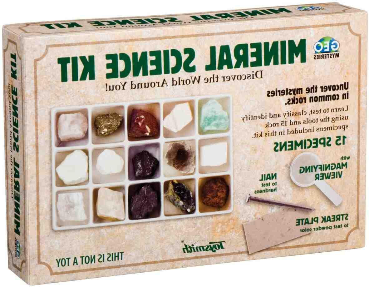 Rocks and minerals kit